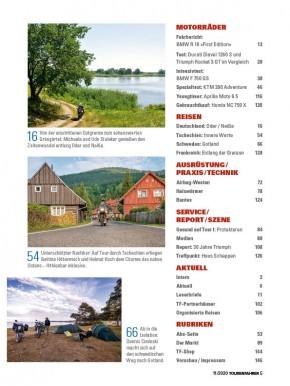 TOURENFAHRER November 2020 gedruckte Ausgabe