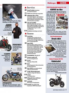 MOTORRAD NEWS 2/2017 gedruckte Ausgabe