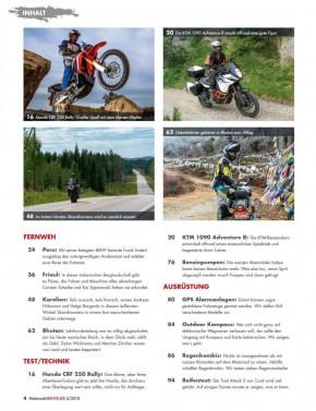 MotorradABENTEUER September/Oktober 2018 gedruckte Ausgabe