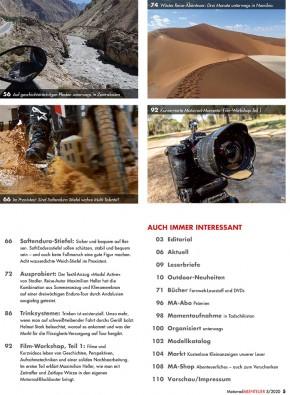 MotorradABENTEUER September/Oktober 2020 gedruckte Ausgabe