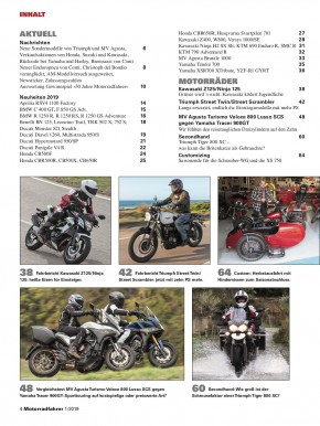 MOTORRADFAHRER Januar 2019 E-Paper