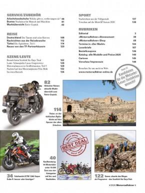 MOTORRADFAHRER April 2020 gedruckte Ausgabe