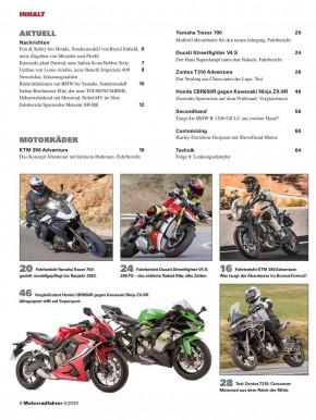 MOTORRADFAHRER Mai 2020 gedruckte Ausgabe