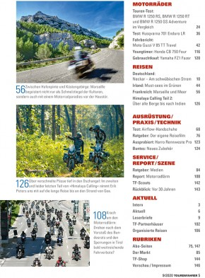 TOURENFAHRER September 2020 gedruckte Ausgabe