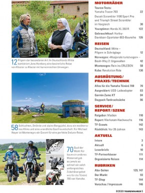 TOURENFAHRER August 2020 gedruckte Ausgabe
