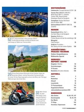 TOURENFAHRER Januar 2020 gedruckte Ausgabe