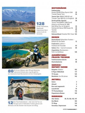 TOURENFAHRER März 2019 gedruckte Ausgabe