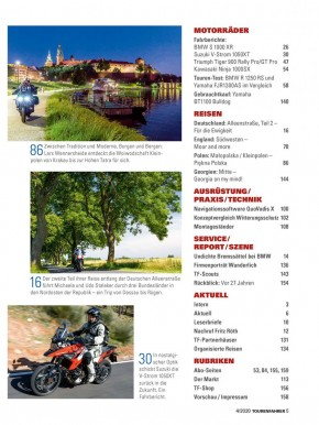 TOURENFAHRER April 2020 gedruckte Ausgabe