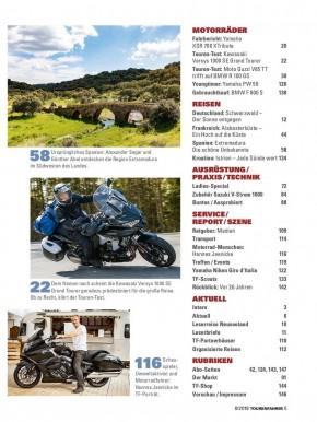 TOURENFAHRER August 2019 gedruckte Ausgabe