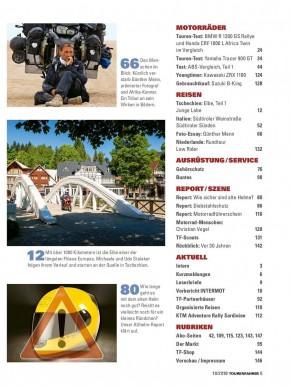 TOURENFAHRER Oktober 2018 gedruckte Ausgabe