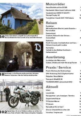 TOURENFAHRER Januar 2013 gedruckte Ausgabe