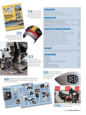 MOTORRADFAHRER Dezember 2013 gedruckte Ausgabe