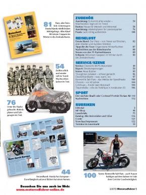 MOTORRADFAHRER Februar 2013 gedruckte Ausgabe