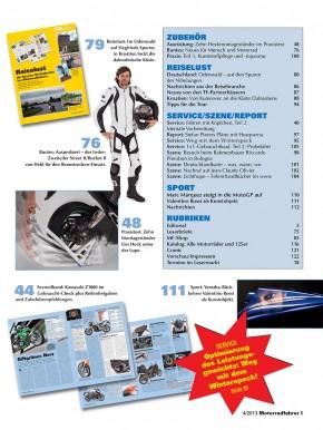 MOTORRADFAHRER April 2013 gedruckte Ausgabe