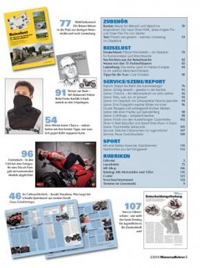 MOTORRADFAHRER Februar 2014 gedruckte Ausgabe