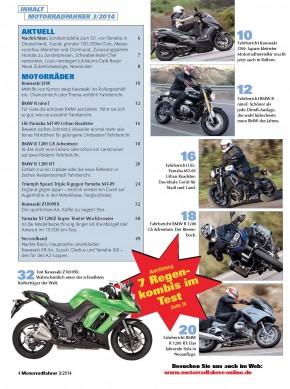 MOTORRADFAHRER März 2014 gedruckte Ausgabe