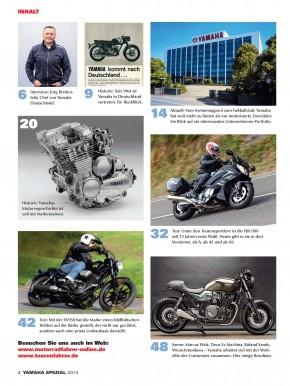 MOTORRADFAHRER - YAMAHA SPEZIAL 2014 gedruckte Ausgabe