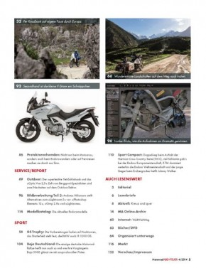 MotorradABENTEUER Juli/August 2014 E-Paper