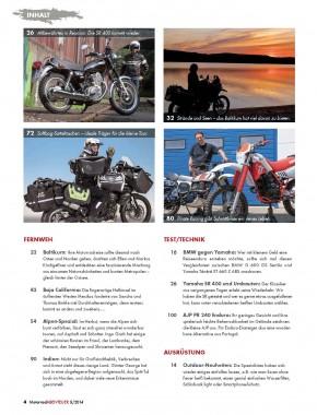 MotorradABENTEUER September/Oktober 2014 gedruckte Ausgabe