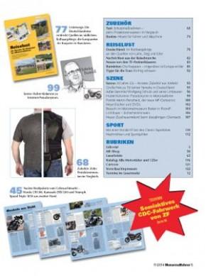 MOTORRADFAHRER November 2014 gedruckte Ausgabe