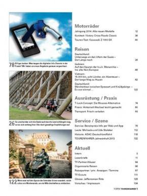 TOURENFAHRER Januar 2014 gedruckte Ausgabe