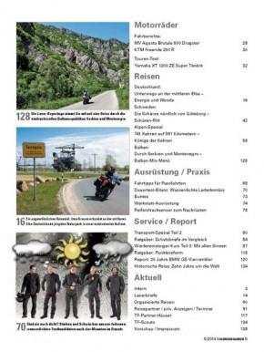 TOURENFAHRER Mai 2014 E-Paper