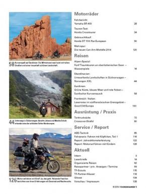 TOURENFAHRER Juni 2014 gedruckte Ausgabe
