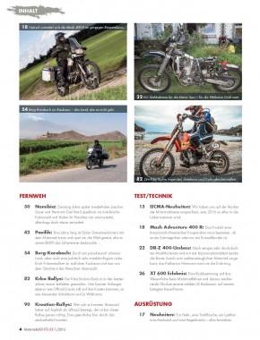 MotorradABENTEUER Januar/Februar 2016 E-Paper