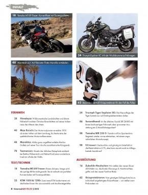 MotorradABENTEUER März/April 2015 gedruckte Ausgabe