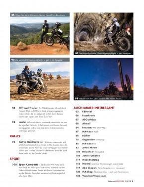 MotorradABENTEUER Januar/Februar 2018 gedruckte Ausgabe