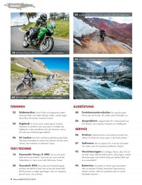 MotorradABENTEUER März/April 2018 gedruckte Ausgabe