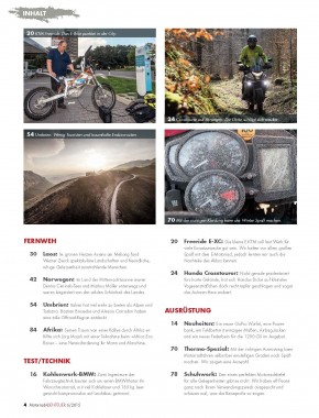 MotorradABENTEUER November/Dezember 2015 E-Paper