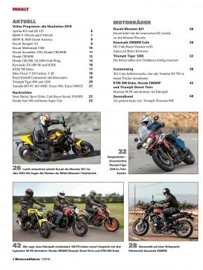 MOTORRADFAHRER Januar 2018 gedruckte Ausgabe