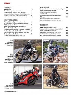MOTORRADFAHRER März 2017 gedruckte Ausgabe
