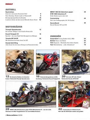 MOTORRADFAHRER März 2018 gedruckte Ausgabe
