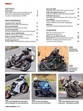MOTORRADFAHRER April 2017 gedruckte Ausgabe