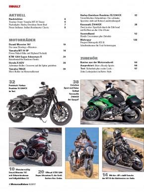 MOTORRADFAHRER Mai 2017 gedruckte Ausgabe