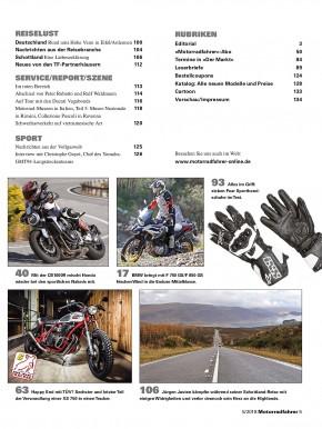MOTORRADFAHRER Mai 2018 gedruckte Ausgabe
