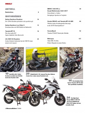 MOTORRADFAHRER Juli 2016 gedruckte Ausgabe