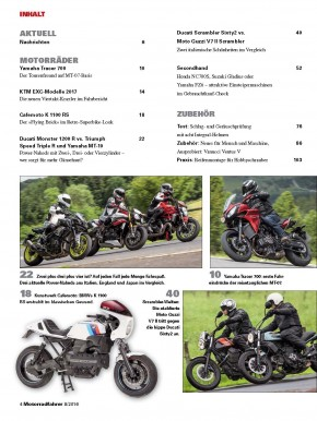 MOTORRADFAHRER August 2016 gedruckte Ausgabe
