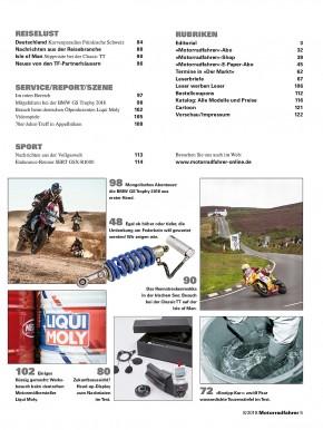 MOTORRADFAHRER August 2018 gedruckte Ausgabe