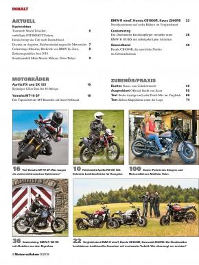 MOTORRADFAHRER September 2018 gedruckte Ausgabe