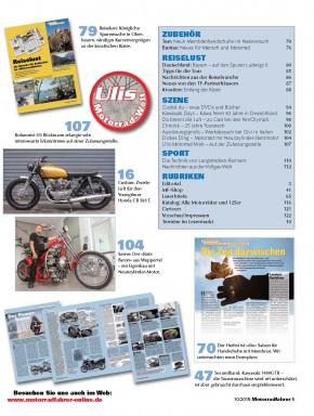MOTORRADFAHRER Oktober 2015 gedruckte Ausgabe