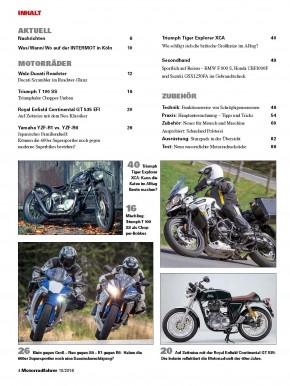 MOTORRADFAHRER Oktober 2016 gedruckte Ausgabe
