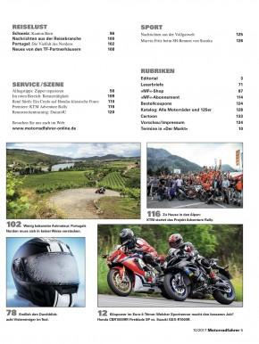 MOTORRADFAHRER Oktober 2017 gedruckte Ausgabe