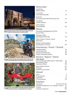 TOURENFAHRER Juli 2017 gedruckte Ausgabe