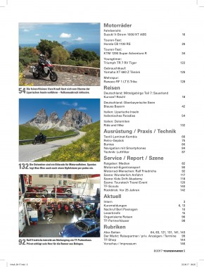 TOURENFAHRER August 2017 gedruckte Ausgabe