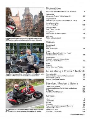 TOURENFAHRER Januar 2016 gedruckte Ausgabe