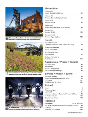 TOURENFAHRER März 2018 gedruckte Ausgabe