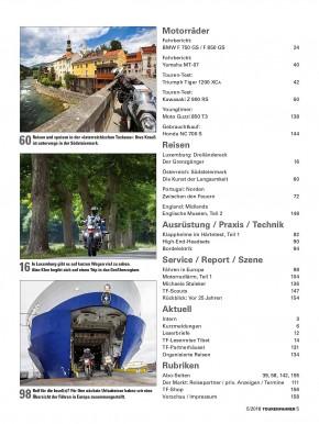 TOURENFAHRER Mai 2018 gedruckte Ausgabe